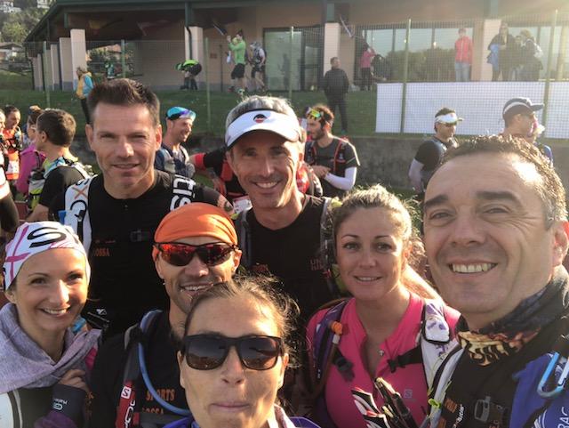 """Le club """"E Muvre Balagne"""" à l'honneur au Trail international du logo Maggiore en Lombardie"""