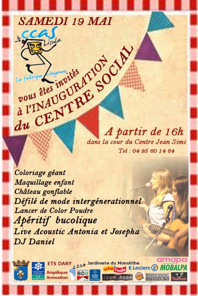 Inauguration du Centre Social de Lisula Rossa