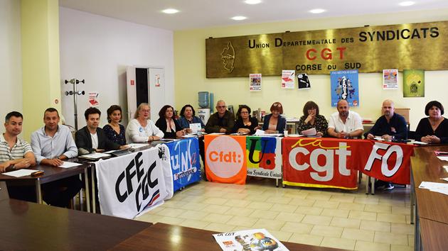 Conférence de presse du 19 mai 2018 à Ajaccio