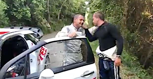 Paul Trojani et François-Frédéric Navarra les deux principaux animateurs de la course
