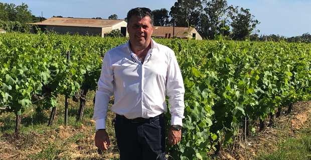 Christian Orsucci, président de la cave coopérative viticole d'Aleria.