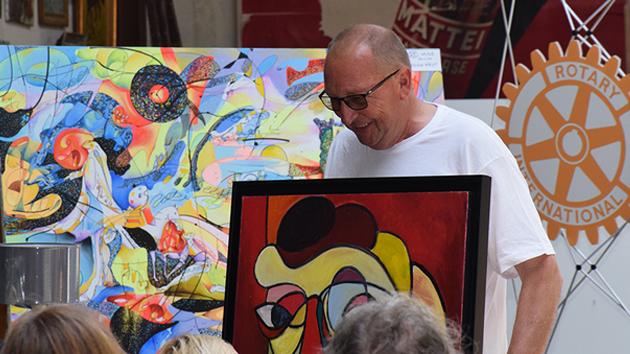 Ajaccio : Le Rotary récolte 15 000€ sur une vente aux enchères caritative d'œuvres d'art