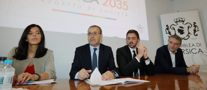 """""""Corsica 2035"""" : Jean-Guy Talamoni fait le bilan de ses actions à mi-mandat"""