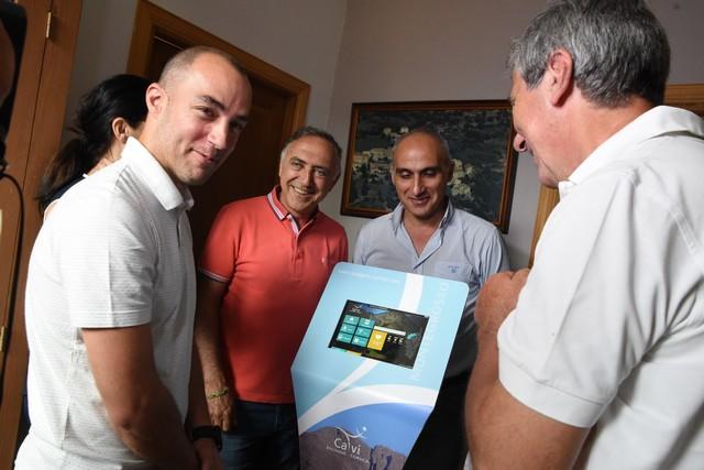 Installation de bornes digitales d'information touristique sur 14 communes de Calvi-Balagne