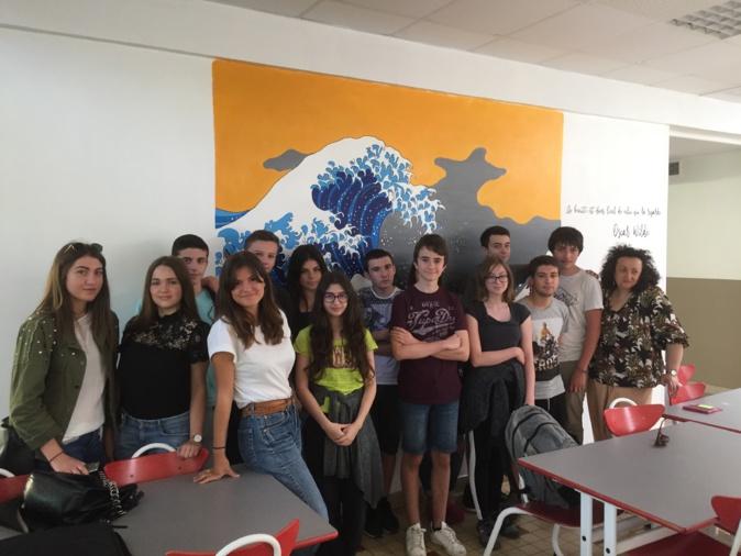 Les artistes en herbe du lycée de Montesoro