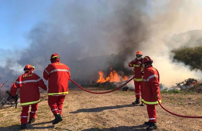 Les moyens communaux de Haute-Corse mobilisés contre le feu !