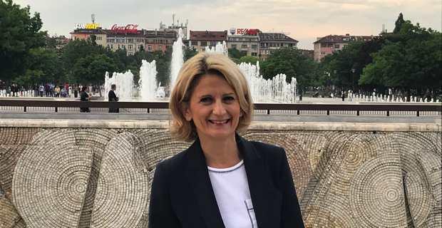 Nanette Maupertuis, conseillère exécutive en charge des affaires européennes, présidente de l'Agence du tourisme et membre du Comité des régions, représentait la Collectivité de Corse à Sofia en Bulgarie.