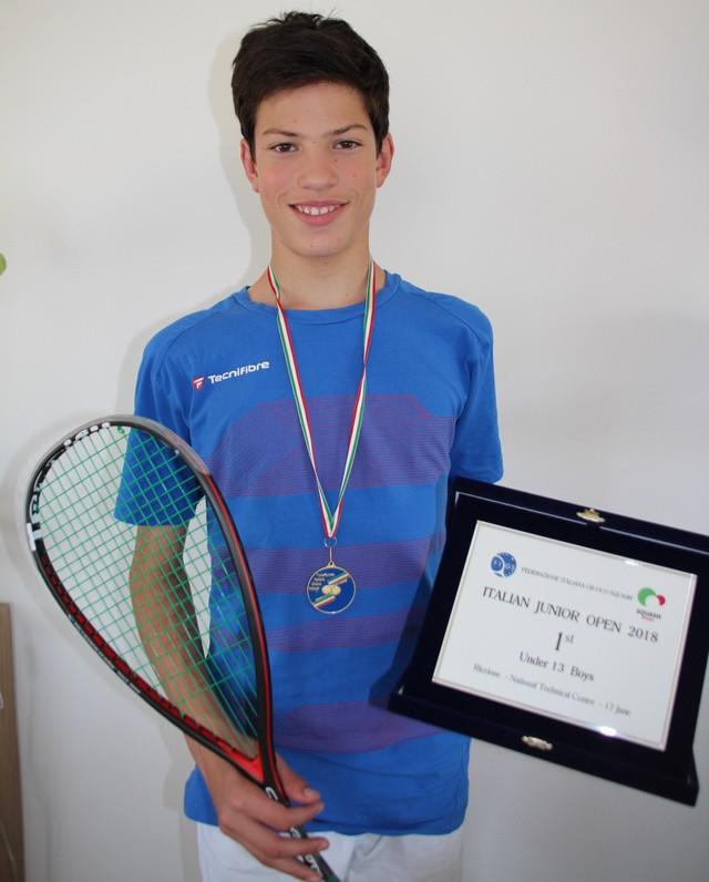 Squah : A Riccione Antonin Romieu a impressionné les spécialistes