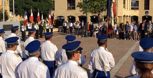 Commémoration de l'appel du 18 juin à Ajaccio
