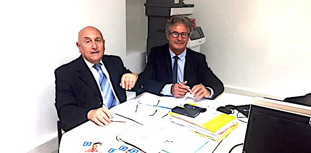 Félix Squarcini et Jean-Jacques Deplette, défenseurs des Droits en Corese-du-Sud