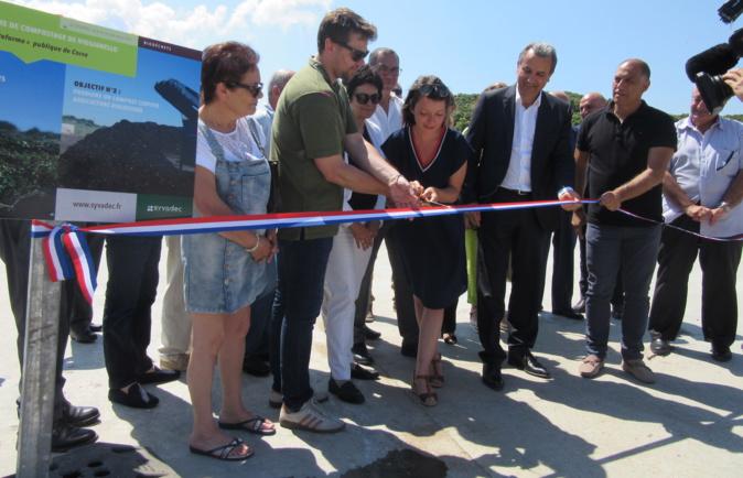 La 1ère bioplateforme publique de Corse est à Viggianello