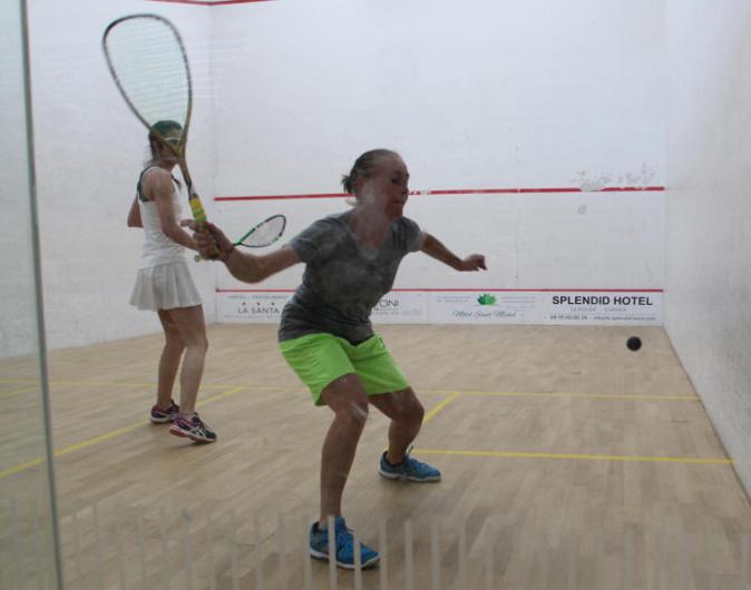 """Noëlie Marchetti """"flambe"""" à l'Open international de squash de l'Ile-Rousse"""
