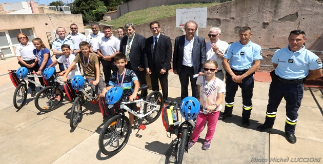 Porticcio : Finale départementale de la piste d'éducation routière pour 58 élèves