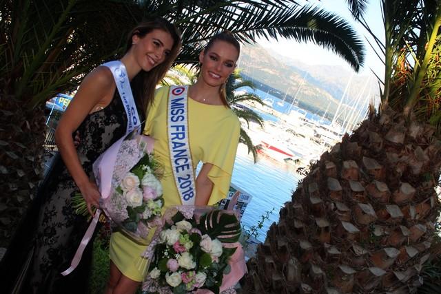 Ouverture de l'Eden Fashion Week de Calvi avec Miss France et Miss Corse