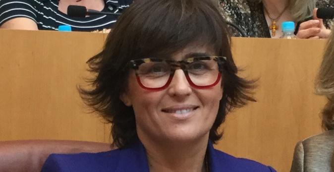 Christelle Combette, conseillère territoriale du groupe Per l'Avvene.
