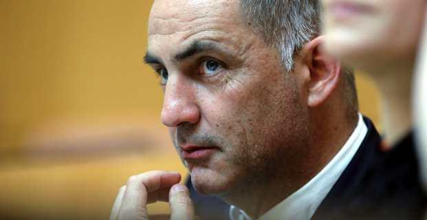 Gilles Simeoni, président du Conseil exécutif de la Collectivité de Corse. Crédit photo M.L.