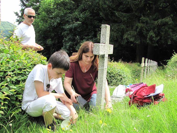 Poilus corses morts en Alsace : Que d'émotions lors du pèlerinage des familles