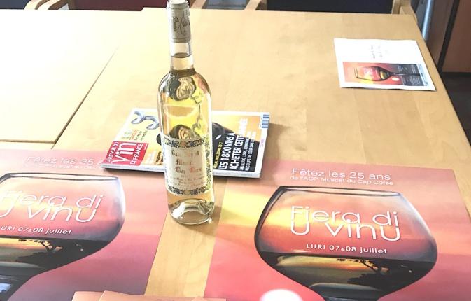 Fiera di u vinu : Le muscat du Cap Corse en vedette à Luri