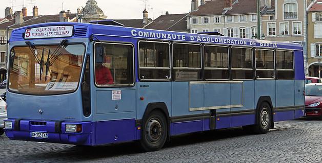 Bastia : Du nouveau à compter de juillet dans le service des bus