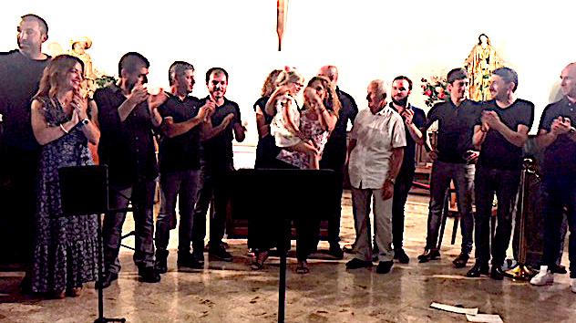 Concert pour «Lily» à l'église Saint Roch d'Ajaccio  : Les chœurs et le cœur!