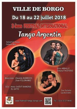 Borgo : L'excellence au Festival international de tango argentin