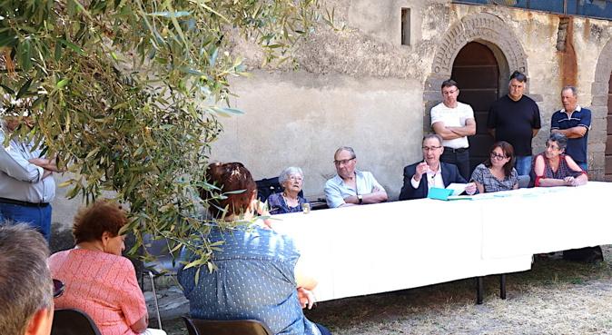 Santa Catalina di Siscu : Les propositions de la municipalité