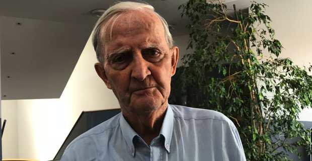 Edmond Simeoni, président de Corsica Diaspora.