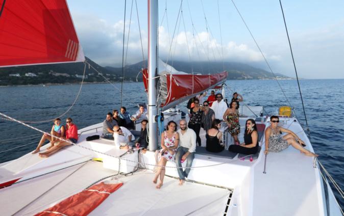 Le concept diner musical en mer arrive à Ajaccio