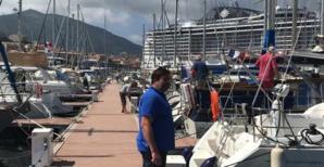 Jean-André Simonetti, Directeur du port de plaisance Tino Rossi.