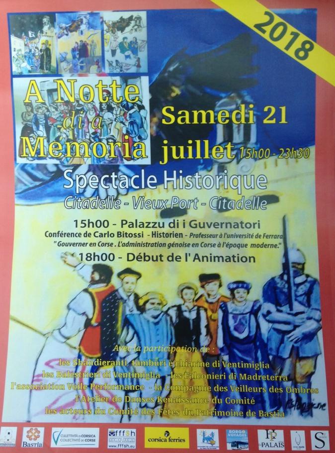 A Notte di a Memoria : Un retour dans le Bastia des gouverneurs génois le temps d'une soirée