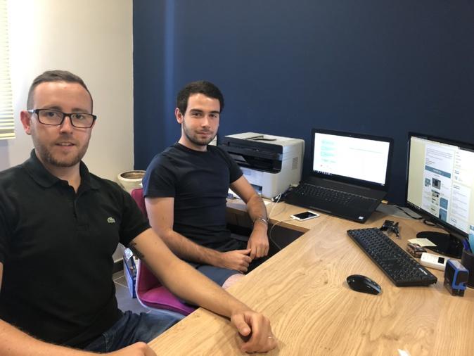Ajaccio : Deux jeunes entrepreneurs facilitent l'obtention de cartes grises