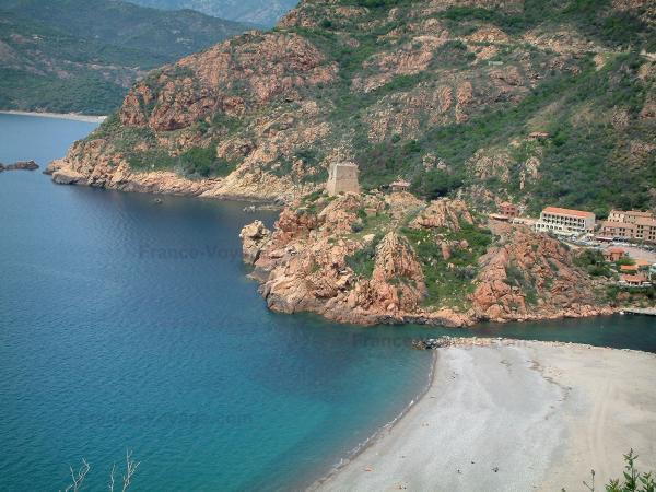 Agence du Tourisme :  Visite dans la microrégion de l'Ouest Corse