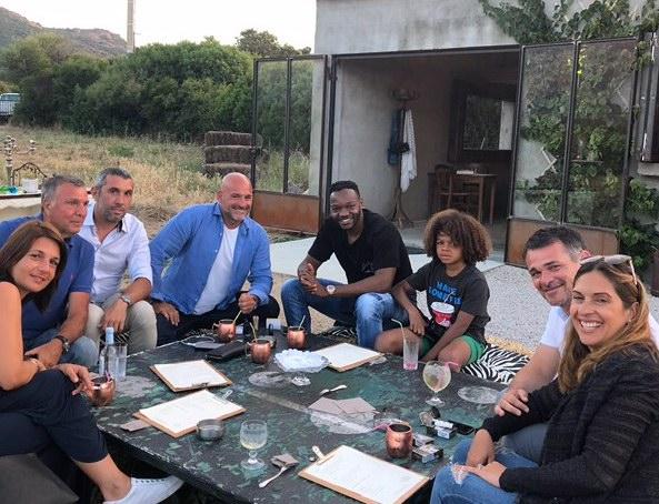 Vacances en Balagne pour Steve Mandanda