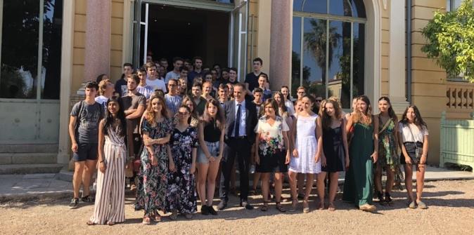Les néo-bacheliers de Corse-du-Sud félicités à la Collectivité de Corse