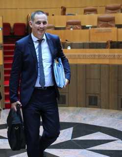 Le président de l'Exécutif, Gilles Simeoni.