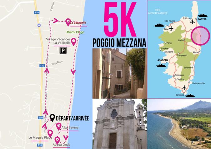 Poggio-Mezzana : 2ème édition de  la « Corsica Color Fun »
