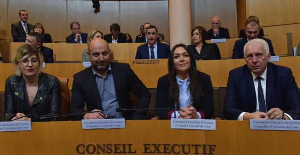 Vanina Borromei, conseillère exécutive et présidente de l'Office des transports de la Corse (OTC).