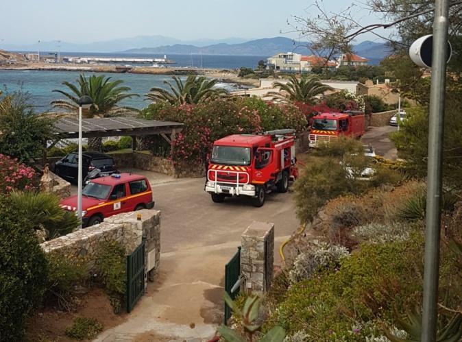 Pas de victime dans l'incendie de L'ile Rousse