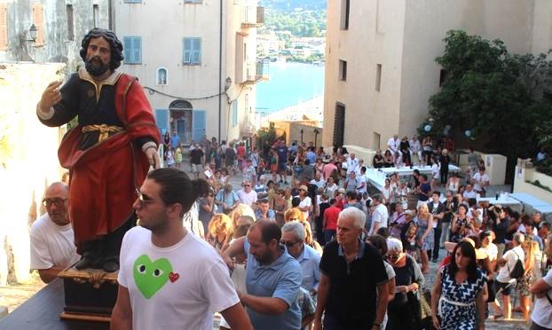 Les vignerons ont fêté la Saint-Vincent dans la citadelle de Calvi