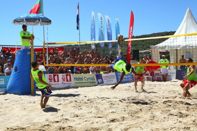 Mondial de Footvolley : Victoire du Brésil à Piana