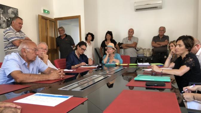 Josepha Giacometti rencontre les élus du bassin de vie de Lisula