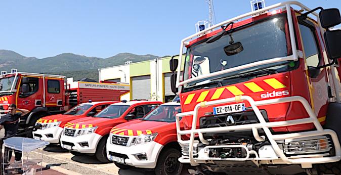 Bastia : Le SIS 2B renouvelle son parc automobile