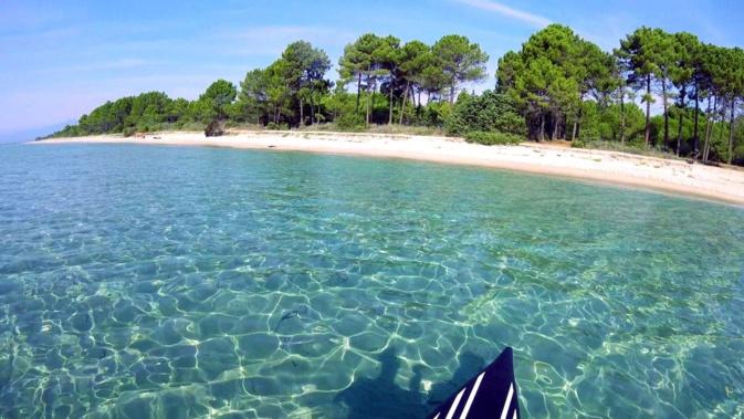 La photo du jour : Superbe plage de Pinia