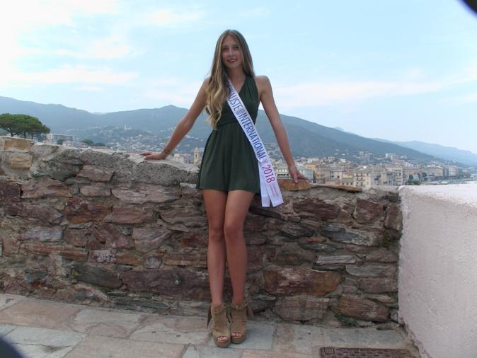 Alicia Nicolini représentera la Corse au concours Miss International France 2018