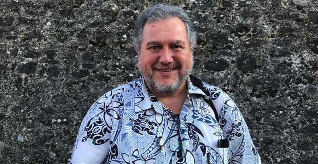Moetai Brotherson, député GDR (Gauche démocrate et républicaine) de la 3ème circonscription de la Polynésie, vice-président du parti indépendantiste Tavini Huiraatira No Te Ao Maohi - Front de libération de Polynésie, et représentant à l'Assemblée de Polynésie.