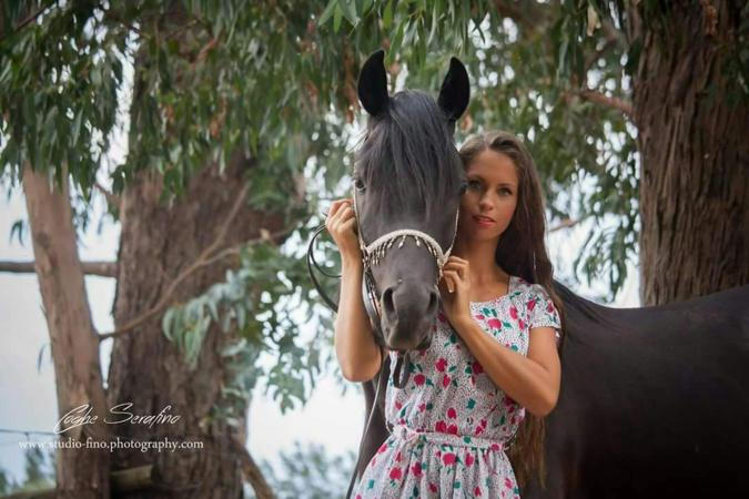 Miss Bastia 2018 et son cheval Benjhy