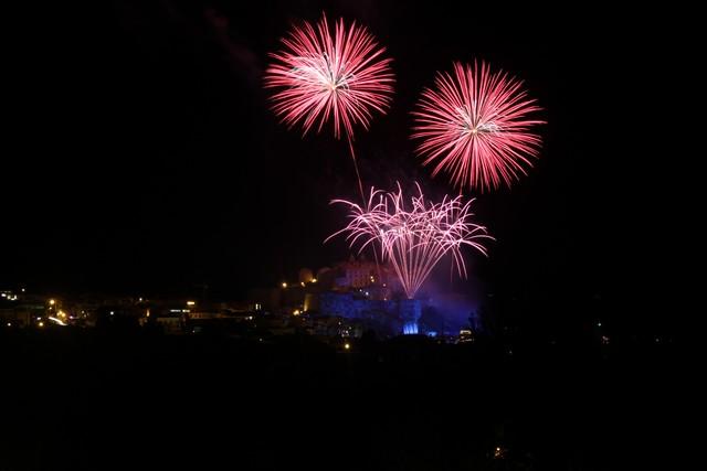 Citadelle de Calvi : Un spectacle pyrotechnique de toute beauté dédié à la Tour du sel