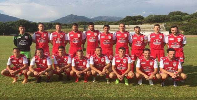 L'équipe du FC Bastelicaccia