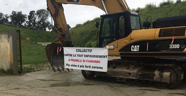 Déchets : Nouveau blocage du centre d'enfouissement de Prunelli-di-Fium'Orbu