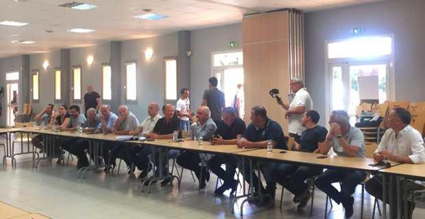 Les élus de la Communauté de communes de Fiumorbu-Castellu.